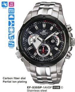 Casio Edifice Kol Saati ( EF-535SP-1AVDF )